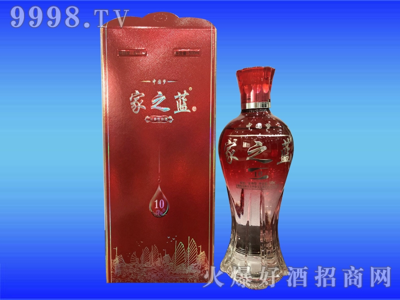 闯王酒业中国梦家之蓝10-白酒招商信息