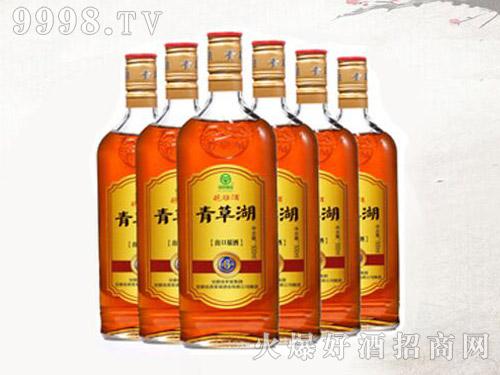 青草湖-金六年花雕酒六瓶装x500ml-好酒招商信息