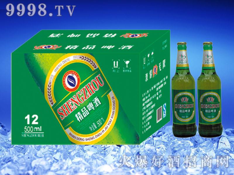 圣洲精品啤酒500ml瓶