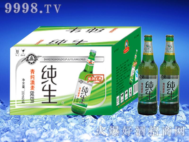 圣洲纯生啤酒500ml瓶
