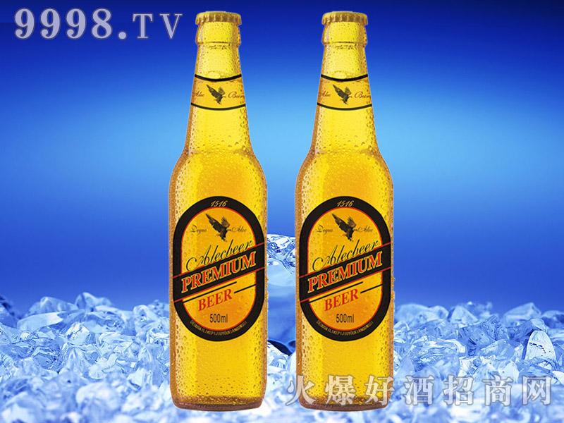 德国艾利客黄啤酒500ml瓶装