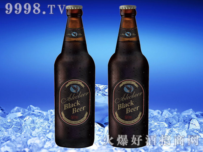 德国艾利客黑啤酒500ml瓶装
