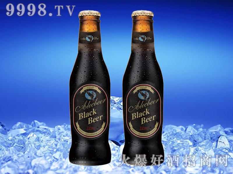 德国艾利客黑啤酒330ml瓶装