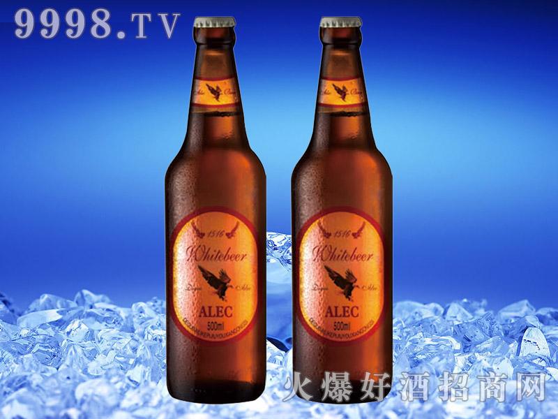 德国艾利客白啤酒500ml瓶装