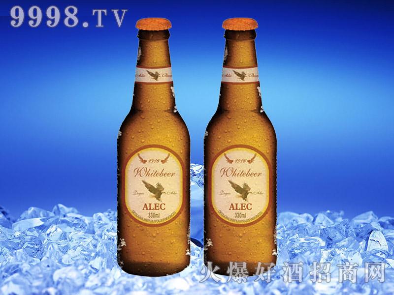 德国艾利客白啤酒330ml瓶装