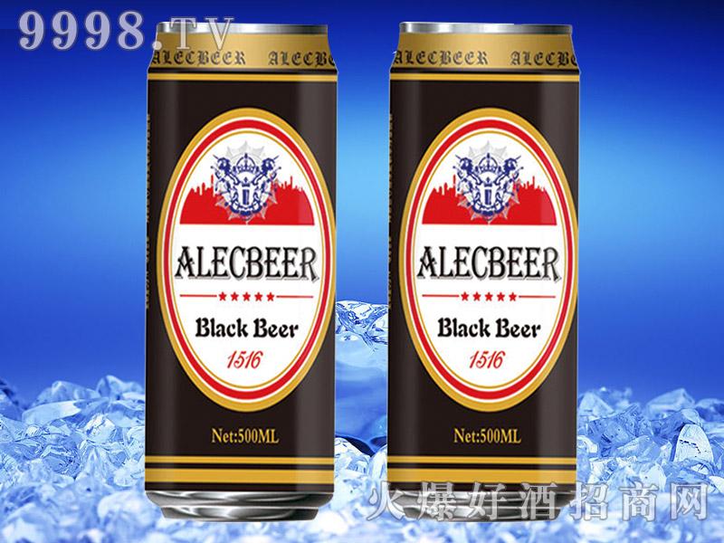 德国艾利客黑啤酒500ml罐装