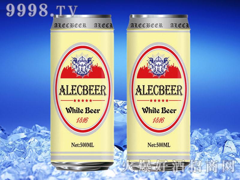 德国艾利客白啤酒500ml罐装