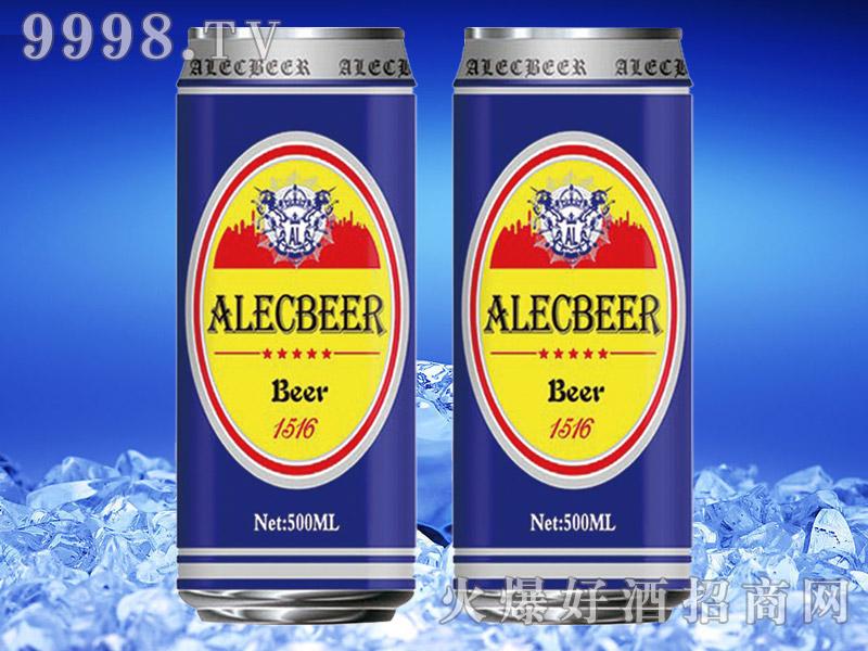 德国艾利客黄啤酒500ml罐装