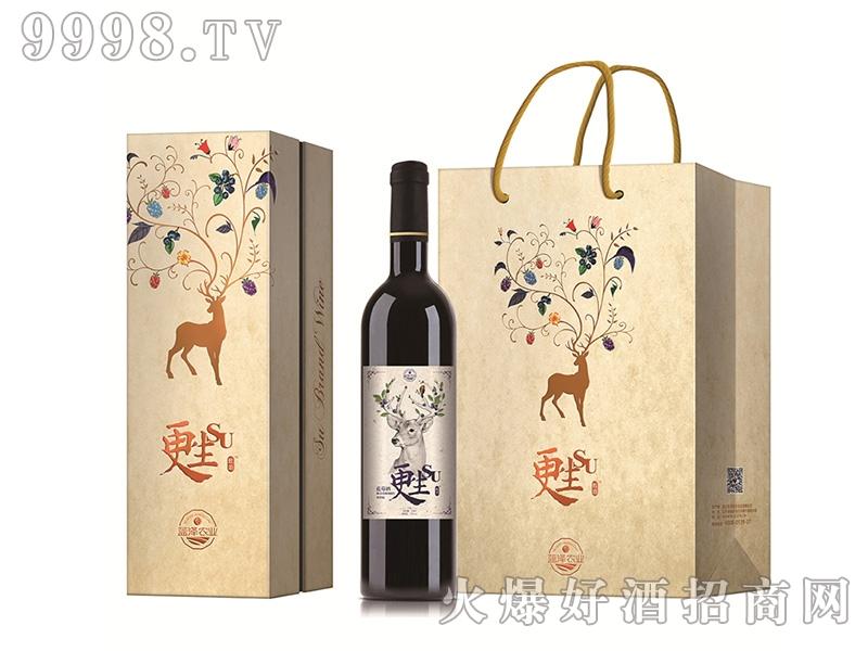 蓝泽蓝莓更生酒(干型)