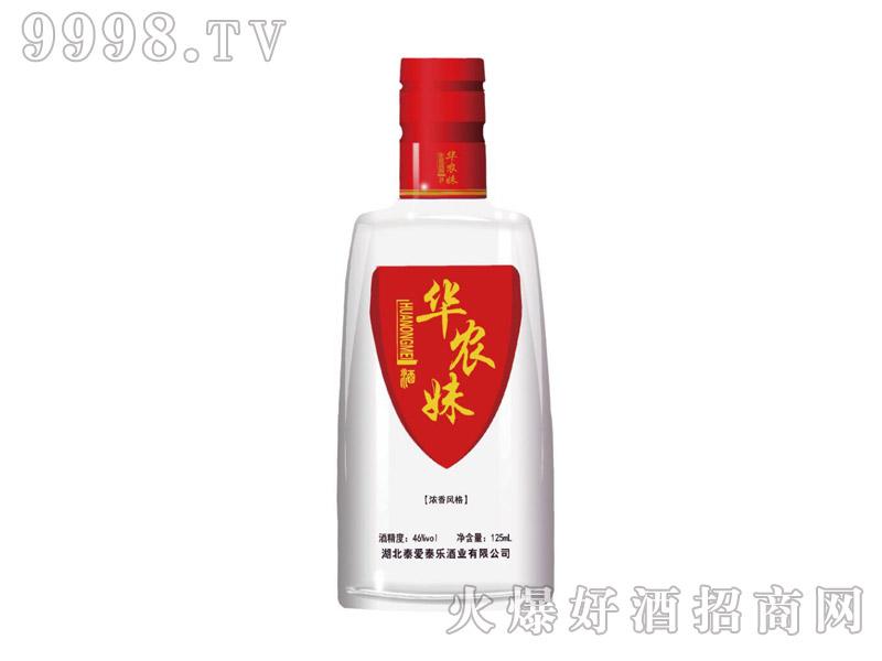华农妹46°浓香小酒(红)