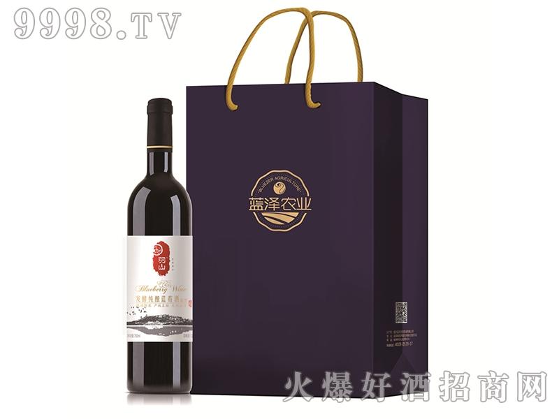蓝泽发酵纯酿蓝莓酒(甜型)