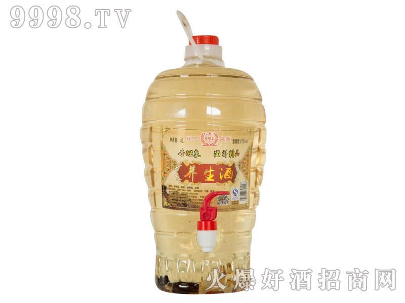 杏旺泉养生酒45°4L