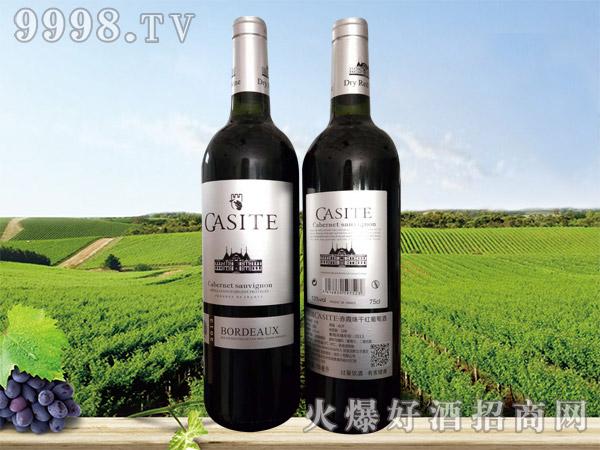 法国GASITE赤霞珠干红葡萄酒(皮箱)