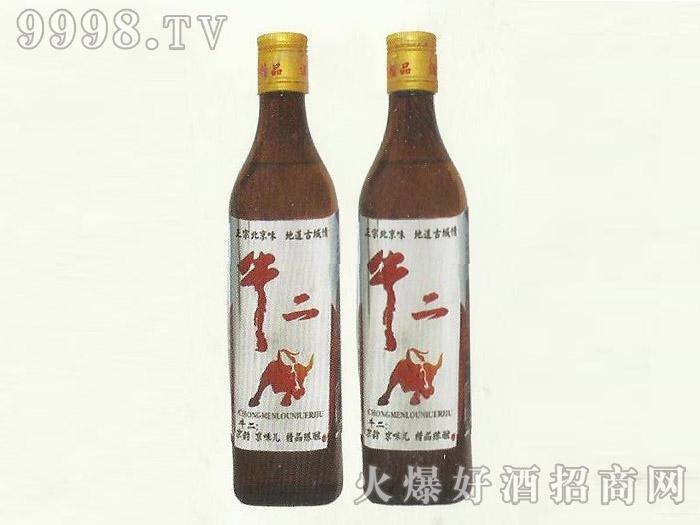 牛二精品陈酿酒42度500ml
