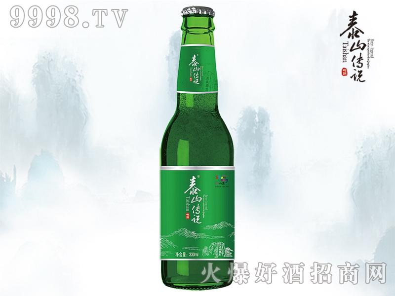 泰山传说尚品啤酒330ml瓶装