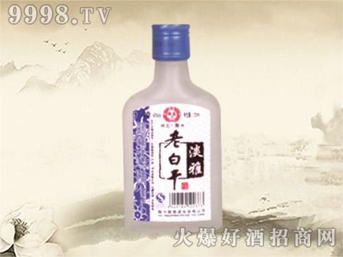 衡泰老白干酒淡雅125ml