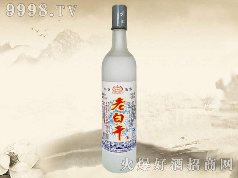衡盛坊老白干酒42°500ml(白标磨砂瓶)