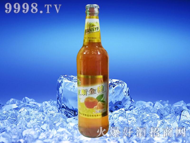 汉斯啤乐金桔风味饮料