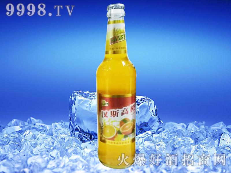 汉斯啤乐高橙风味饮料