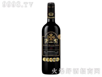 圣洛克雄狮黑标干红葡萄酒1.5L