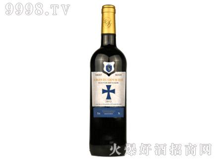 十字雄狮(蓝标)干红葡萄酒