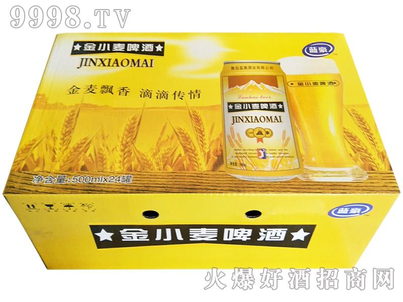 金小麦啤酒500mlx24罐
