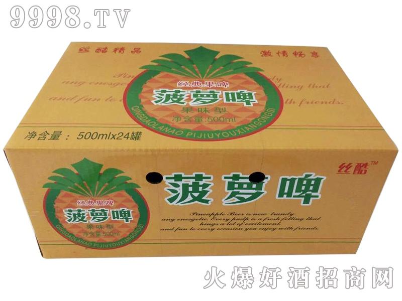 菠萝啤酒500mlx24罐