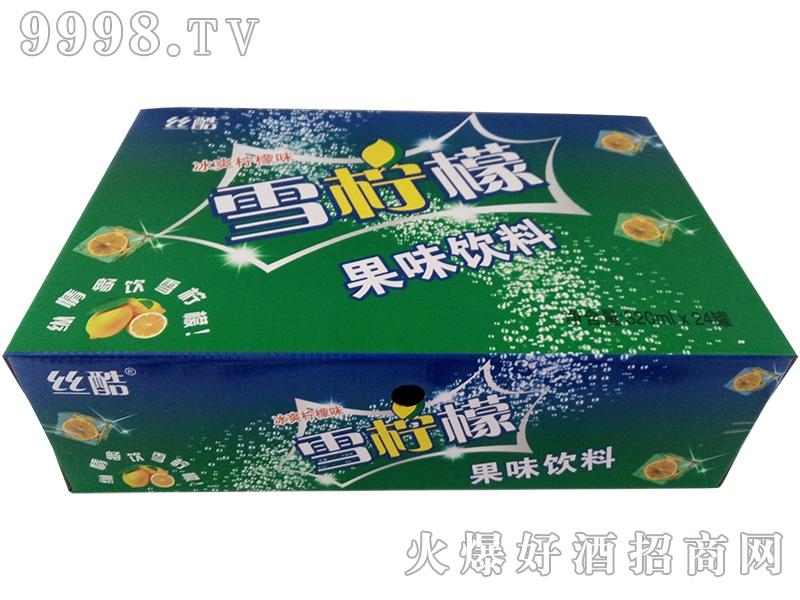 雪柠檬果味饮料320mlx24罐