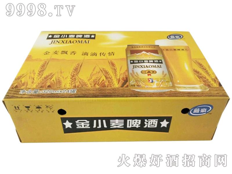 金小麦啤酒320mlx24罐