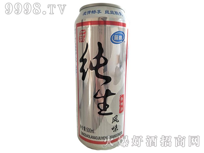 纯生风味啤酒500ml