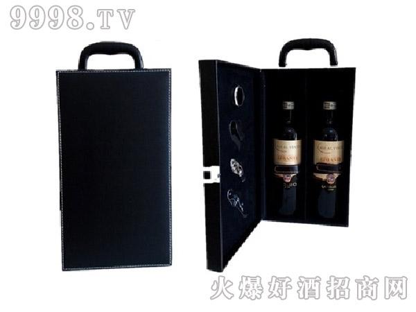 双支皮盒礼盒(黑)-机械包装信息