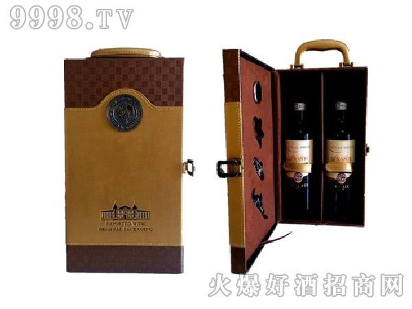 双支皮盒礼盒-机械包装信息