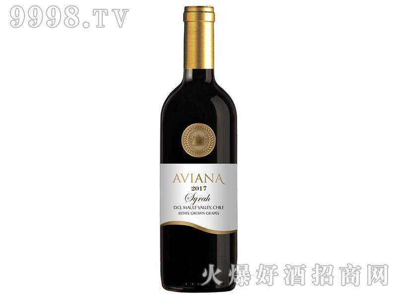 艾薇娜西拉干红葡萄酒375ml
