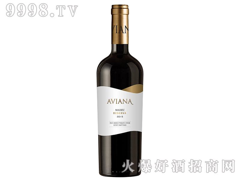 艾薇娜陈酿马尔贝克干红葡萄酒