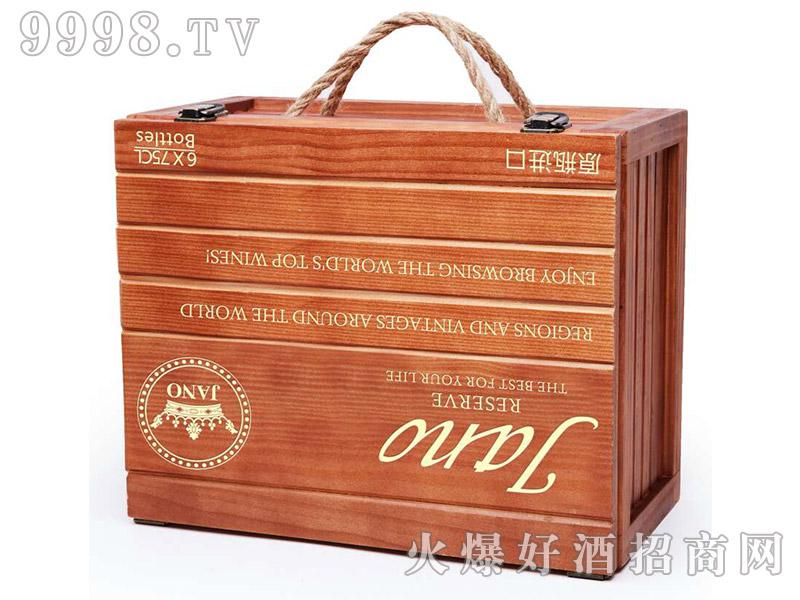 雅诺六支双层木箱