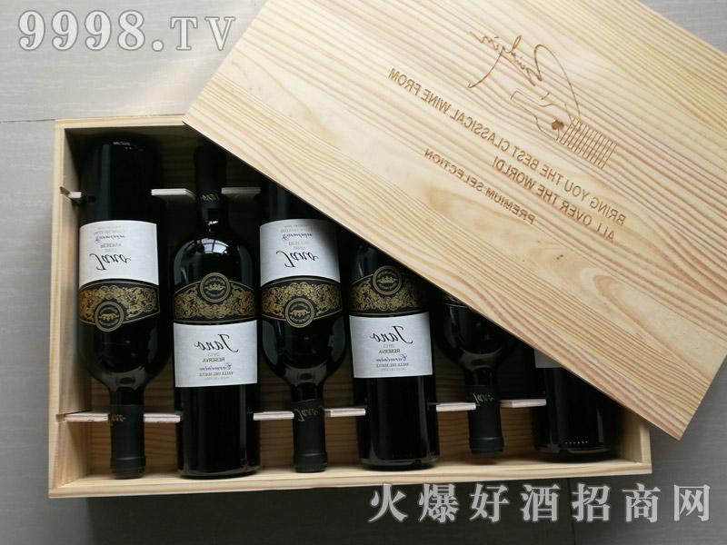 雅诺陈酿卡蒙干红葡萄酒750ml