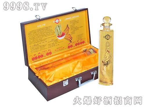 尚品参杞酒皮盒