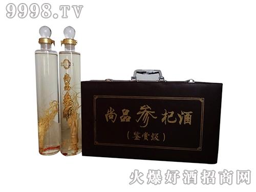 尚品参杞酒鉴赏级皮盒