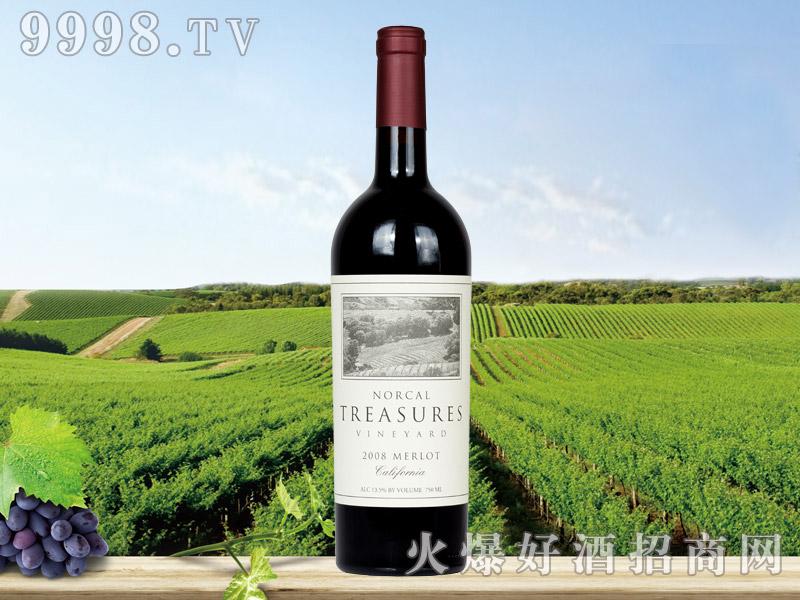 北加宝藏干红葡萄酒2008