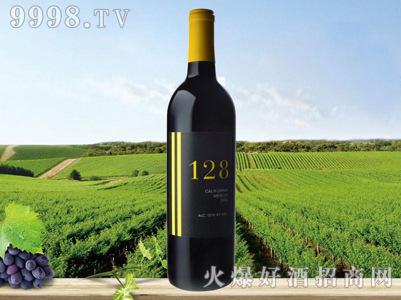 128梅洛干红葡萄酒2012