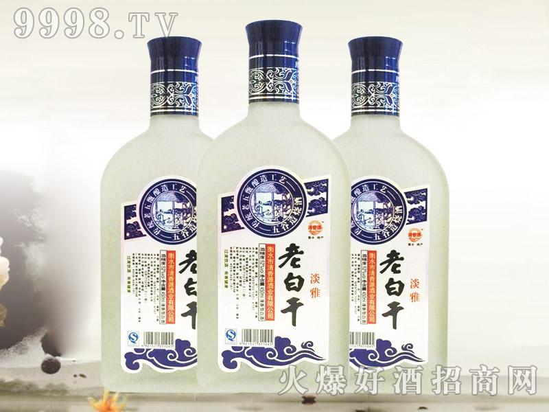 清香源老白干酒扁砂淡雅450ml