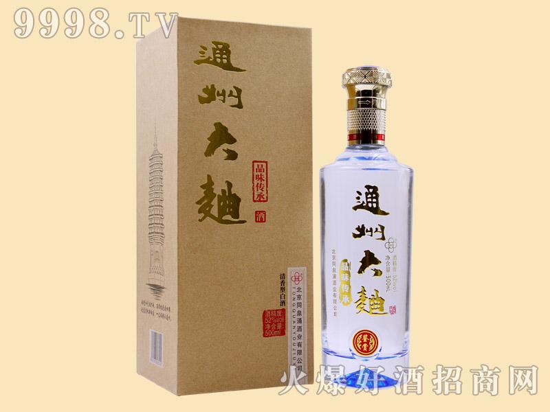 通州大曲酒鉴赏