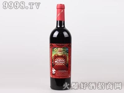 德威堡玛怡娜之花红葡萄酒圣诞订制