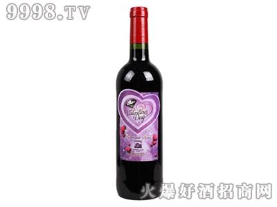 德威堡黑钻干红葡萄酒情人节专属定制