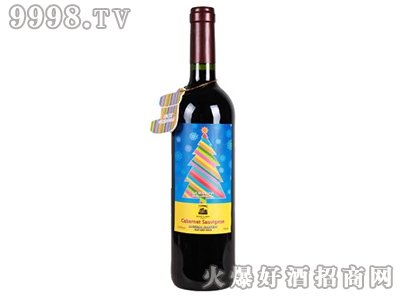德威堡赤霞珠干红葡萄酒圣诞专属订制