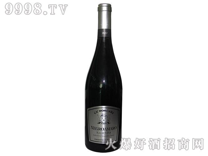 伯斯卡黑曼罗干红葡萄酒