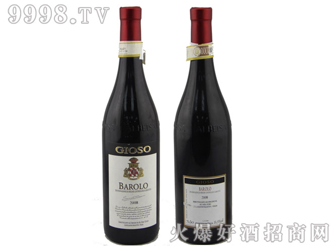 乔颂巴罗洛干红葡萄酒