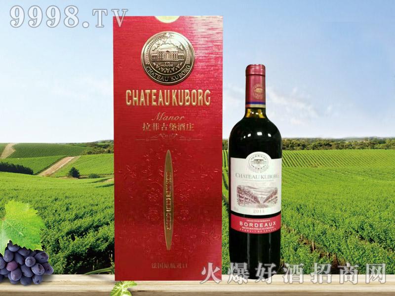 拉菲古堡斯波朗干红葡萄酒(铜标红礼盒)