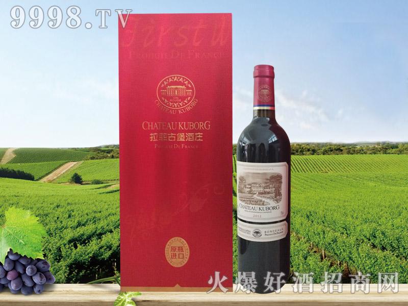 拉菲古堡斯波朗干红葡萄酒(红礼盒)