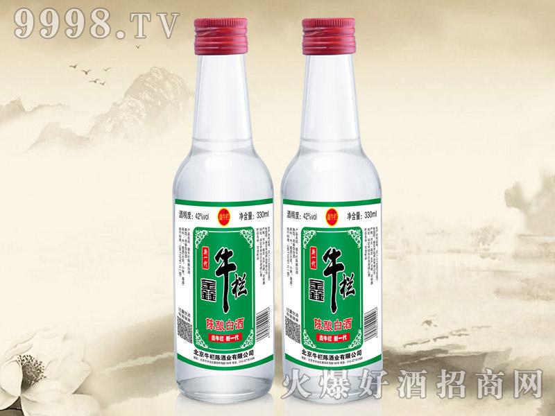 鑫牛栏陈酿白酒42°330ml